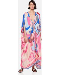 Emilio Pucci Quirimbas Cover-up With Print - Natural