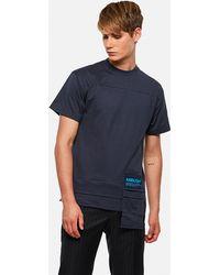 Ambush T-shirt con taschino - Blu