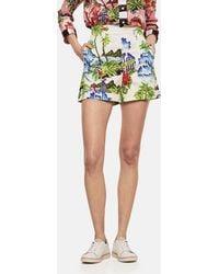 Stella Jean - Shorts In Cotone Stampato - Lyst
