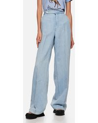 Polo Ralph Lauren High-waisted baggy Jeans - Blue