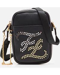 Fendi Leather Cross-body Bag - Black