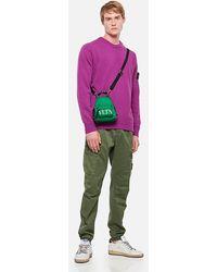 Stone Island - Cotton Twill Regular Cargo Pants - Lyst