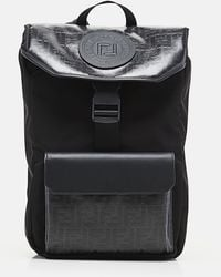 75d9744fdf3b Lyst - Fendi Backpack Backpack in Gray for Men