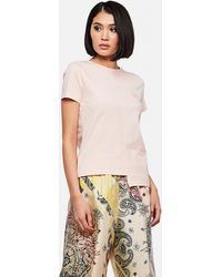 Loewe Asymmetric Anagram T-shirt - Pink