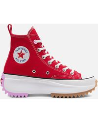 Converse Run Star Hike High Top Sneaker - Red