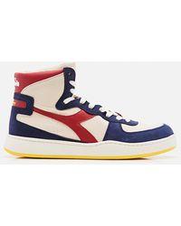 Diadora X Mark Mcnairy Sneaker Blue