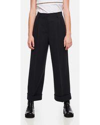 Fendi Wool Pants - Black