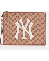 Gucci - Pouch Gg Con Patch Ny Yankees - Lyst