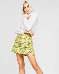 Sara Battaglia - High-waisted Shorts - Lyst
