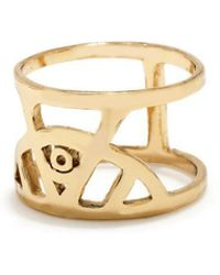 Bing Bang - Illuminated Eye Ring - Lyst