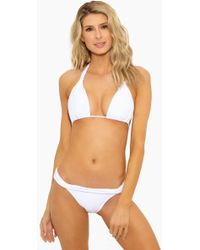 ViX - White Bia Tube Triangle Bikini Top - White - Lyst