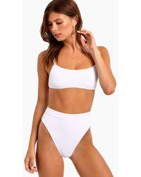 L*Space Gemma Bralette Bikini Top - White