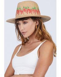 Onia - Rosa Panama Hat - Red Hot Chili Peppers - Lyst