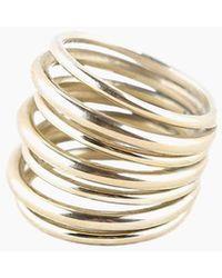 Soko Layered Strand Ring - Multicolor