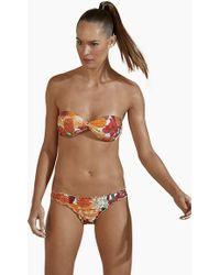 Agua de Coco Scoop Hipster Bikini Bottom - Brown