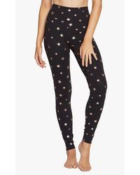 Spiritual Gangster High Waisted 7/8 Leggings - Black