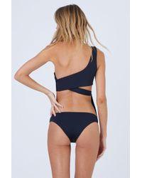 Tavik Ali Cheeky Hipster Bikini Bottom - Black