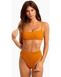 L*Space Gemma Bralette Bikini Top - Orange
