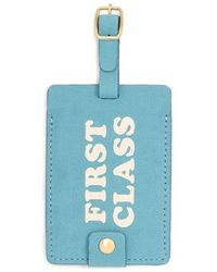 Ban.do First Class Getaway Luggage Tag - Blue