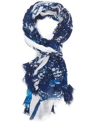 Blue Pacific - Lighting Sarong - Lyst