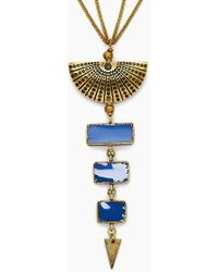 Vanessa Mooney - The Mina Necklace - Gold - Lyst