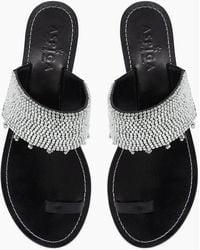 Aspiga Luna Sandals - Black