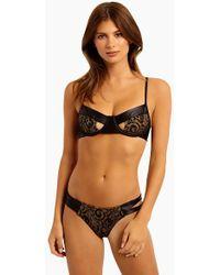 Beach Bunny - Harper Underwire Bikini Top - Black Lace - Lyst