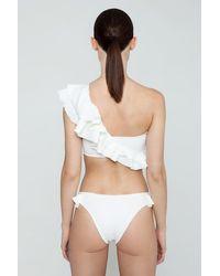 Clube Bossa - Laven Ruffle Cheeky Bikini Bottom - Lyst