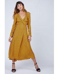 Bec & Bridge Sun Valley Midi Dress - Yellow