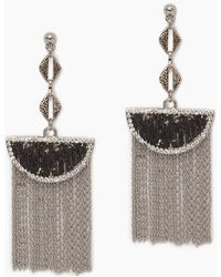 Vanessa Mooney The Cielo Earrings - Metallic