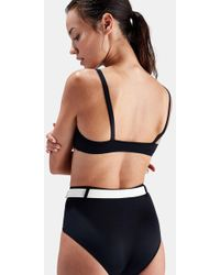 Solid & Striped The Quinn Belted Bikini Bottom - Black