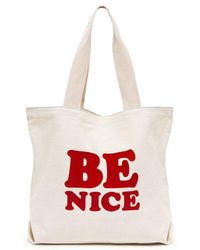Ban.do | Be Nice Big Canvas Tote | Lyst