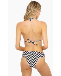 Rosa Cha - Carla Cheeky Bikini Bottom - Geometric - Lyst