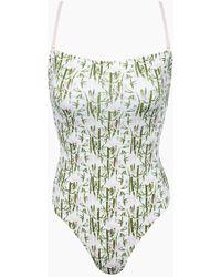 Vilebrequin - Facette Bustier One Piece Swimsuit - Bamboo Song - Lyst