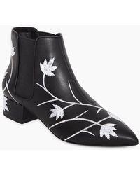 Senso Kaia I Floral Boots - Black