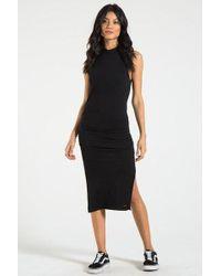 n:PHILANTHROPY Bellflower Sleeveless Midi Dress - Black