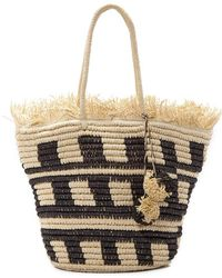 Pia Rossini Bermuda Bag - Natural
