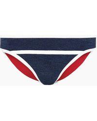 Duskii Monte Carlo Moderate Bikini Bottom - Blue