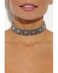 JEWEL CULT - Aurora Sunburst Metal Choker - Lyst