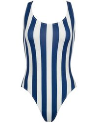 Solid & Striped The Anne-marie Classic One Piece Swimsuit - Blue