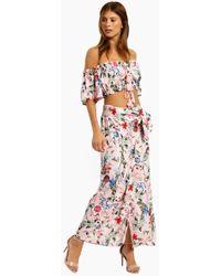 MINKPINK Aloha Maxi Skirt - Aloha - Multicolour