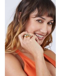 Soko Dilys Cocktail Ring - Brass - Multicolour