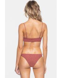 Tavik Ricci Tie Side Bikini Bottom - Pink