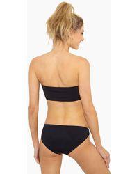 Beth Richards Naomi Low Rise Full Bikini Bottom - Black