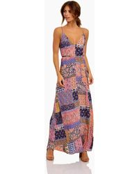Tigerlily - Tejano Maxi Dress - Multipattern - Lyst
