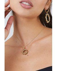 Soko Kamba Delicate Necklace - Metallic
