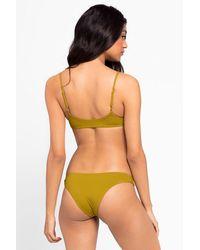 L*Space Piper Bralette Bikini Top - Green