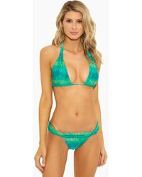 ViX - Bia Tube Triangle Bikini Top - Lagoon - Lyst
