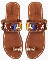 Aspiga - Shella Sandals - Multicolor - Lyst