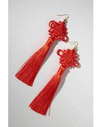 Vanessa Mooney - The Chinese Good Luck Tassels Red - Red - Lyst